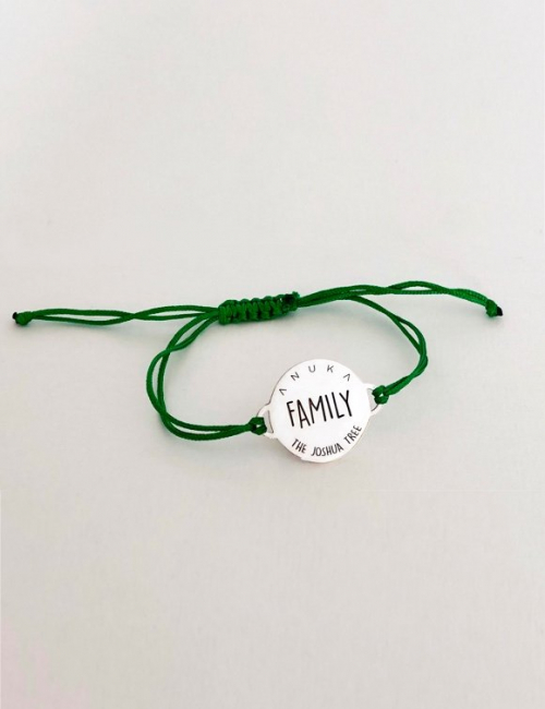 Family friendship bracelet