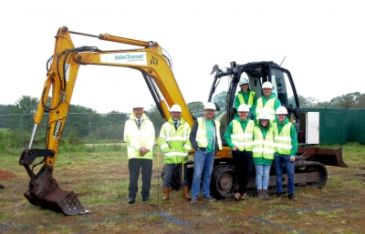 Breaking Ground at the Support Centre