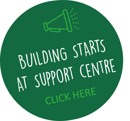 Building starts at Support Centre